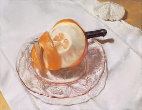 , 'Orange Spiral,' 2008, Atrium Gallery
