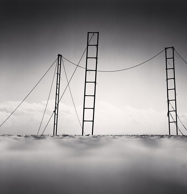 , 'Three Ladders, Sampo Beach, Gangwondo, Korea,' 2006, Robert Mann Gallery