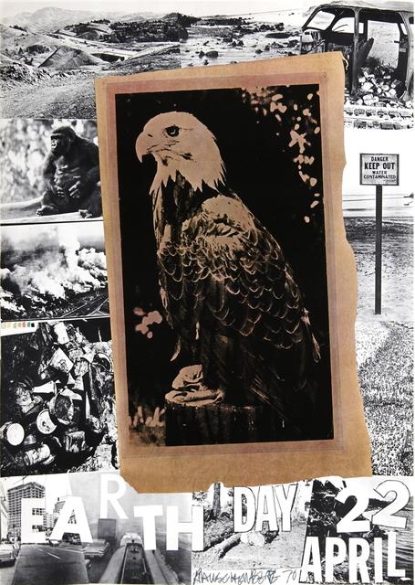 Robert Rauschenberg, 'Earth Day, American Eagle', 1970, ArtWise