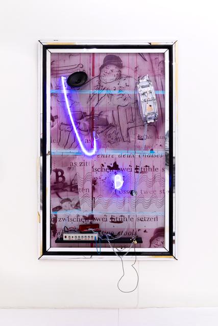 , 'Tussen 2 stoelen in de as zitten,' 2018, Galerie Krinzinger