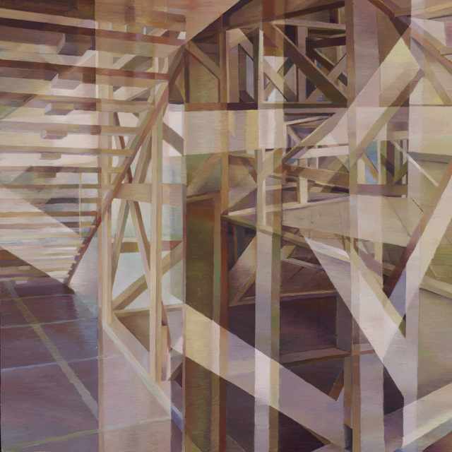 , 'Wooden Structure II,' 2015, Duane Reed Gallery