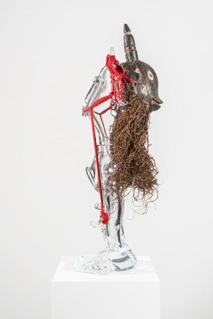Pascale Marthine Tayou, 'Poupée Pascale', 2019, Sculpture, Crystal, mixed media, GALLERIA CONTINUA