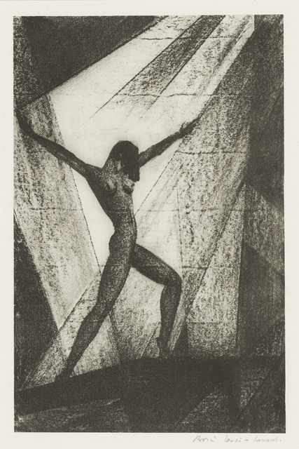 Lovet-Lorski  Boris, 'Untitled', 1929, Print, Lithograph, Childs Gallery