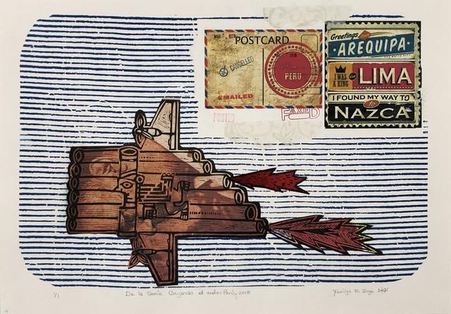 Yamilys Brito Jorge, 'De La Serie Cruzando el Cielo: Peru (Crossing the Sky: Peru) ', 2018, Thomas Nickles Project