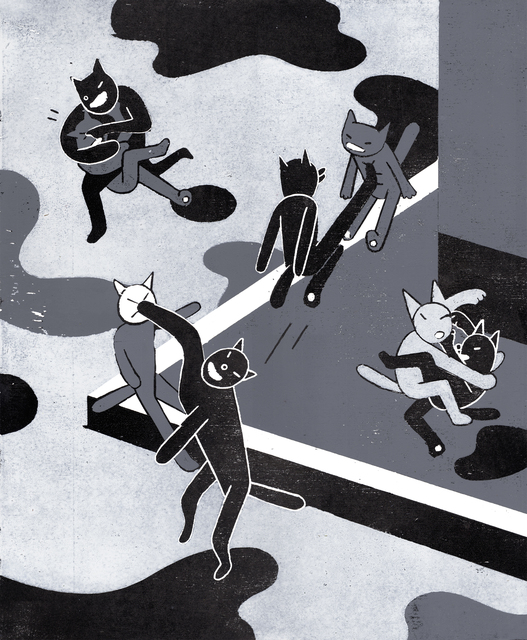 , 'Cats,' 2014, Urban Spree Galerie