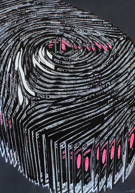 Kurar, 'Human finger print IV', 2018, GCA Gallery