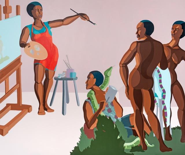 , 'Studio Visit Adam & Eve,' 2019, Addis Fine Art