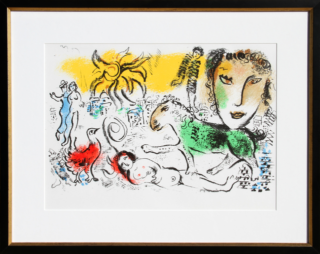 Marc Chagall, 'Homecoming from XXe Siecle. Chagall Monumental', 1973, RoGallery