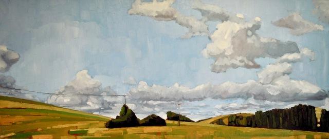 Stewart Jones, 'Drivin' South Bordeaux', 2017, Painting, Oil on canvas, Maison Depoivre