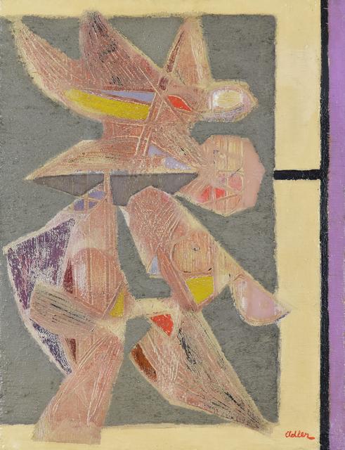 , 'Birds,' ca. 1950, Stern Pissarro