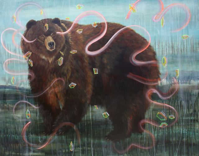 , 'Bear and Crystals,' , Gail Severn Gallery