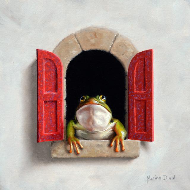 , 'Grenouille a la Fenetre,' 2017, Abend Gallery