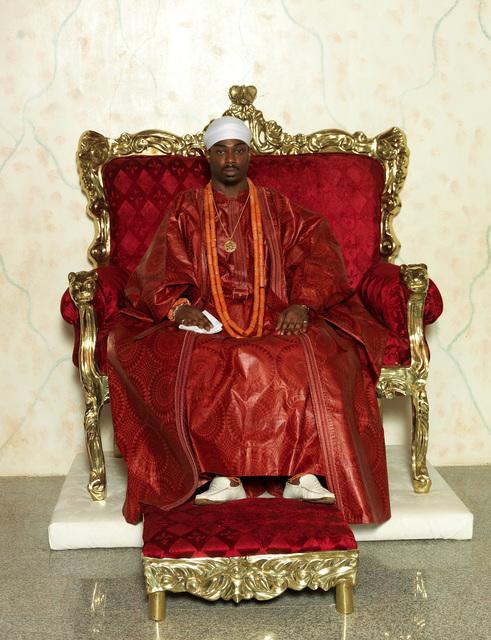 , 'HRM Benjamin Ikenchuckuke Agborekuzi I, the Dein of Agbor Kingdom,' 2012, TAFETA