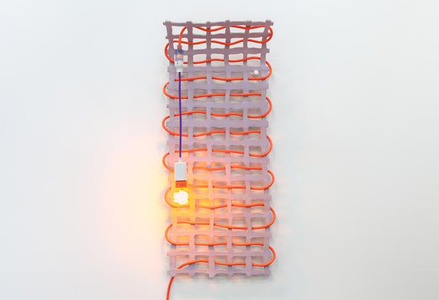 Dana Hemenway, 'Untitled (Grid No. 5 - Purple)', 2016, Eleanor Harwood Gallery