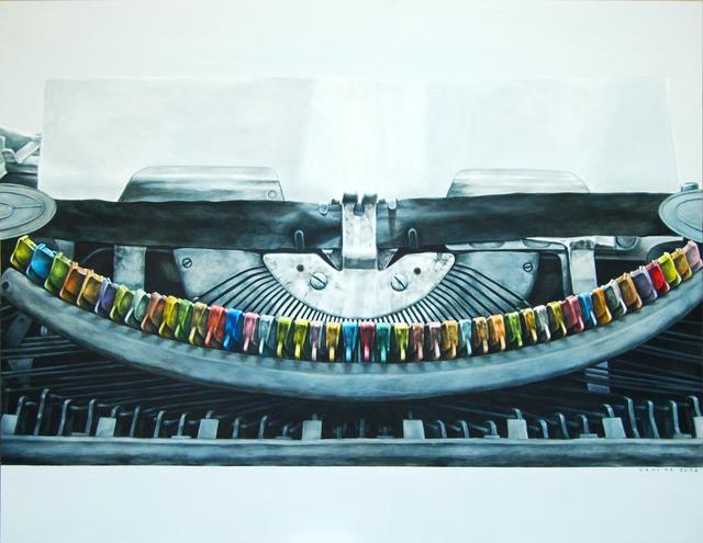 Vani Hidayatur Rahman, 'Trendsetter (Typewriter Series)', 2008, Ode to Art
