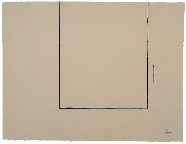 Robert Motherwell, 'Beige Open', 1981, Kasmin