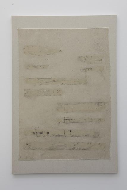 , 'Print (wood) # 2,' 2015, ProjecteSD