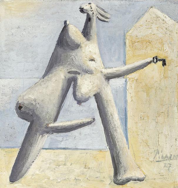 , 'Composition (Figure féminine sur un plage),' 1927, Guggenheim Museum Bilbao