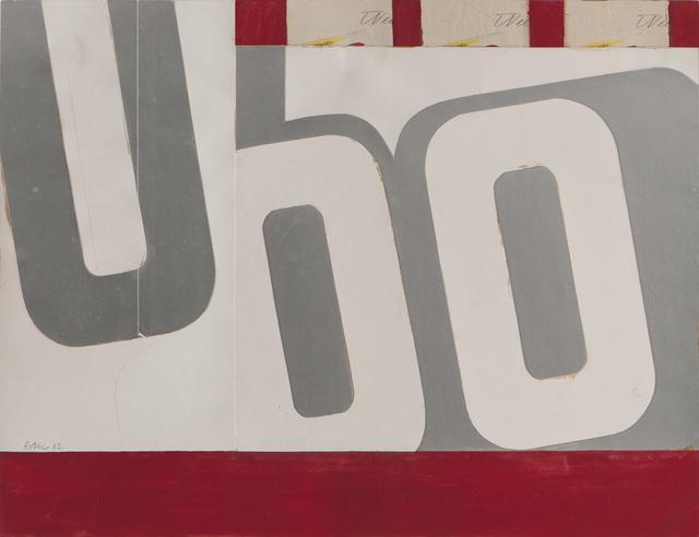 , 'Ohne Titel (Wee Wee Wee),' 1962, Galerie Schlichtenmaier