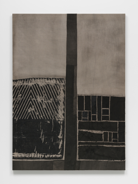 Asger Dybvad Larsen, 'Untitled', 2018, Painting, Mixed media on canvas, Gether Contemporary