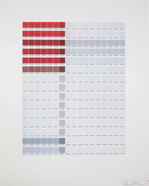 Nick Smith, 'Mondrian - composition (A) en Rouge et Blanc', 2019, Rhodes