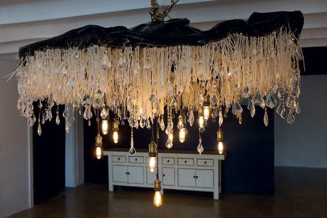 , 'Raindrop Chandelier,' 2016, Lilienthal Gallery