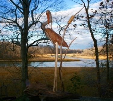 , 'Shy Heron,' , Zenith Gallery