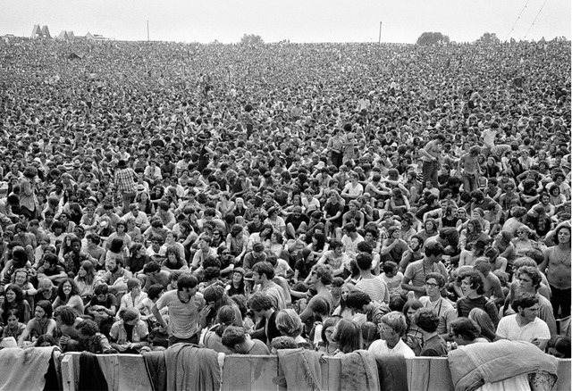 Baron Wolman, '300,000 Strong, Woodstock, 1969', 1969, Mouche Gallery