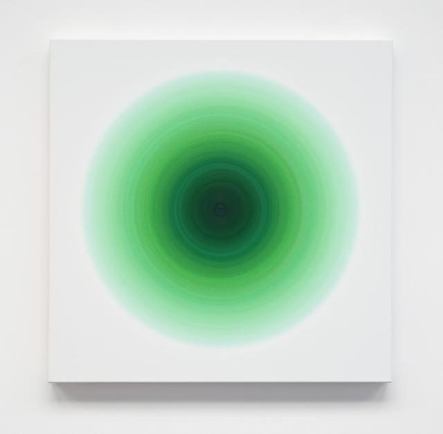 , 'Light Emerald Green Harmonic,' 2016, Galería Hilario Galguera