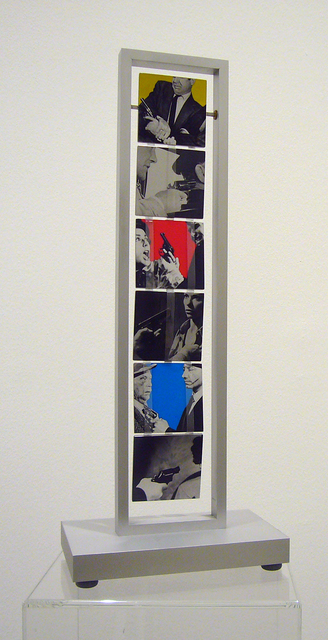 John Baldessari, 'Jacob´s Ladder: Love (Yellow, Red, Blue and Black and White); War (Orange, Violet, Green and Black and White)', 2004, Collectors Contemporary