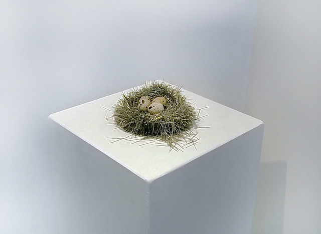 , 'Untitled (nest of pins),' 2013, NextLevel Galerie