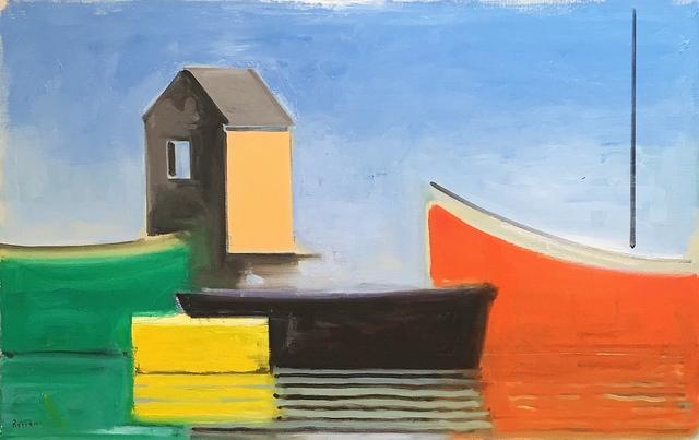 , 'Serene Boat House,' 2000, Lawrence Fine Art