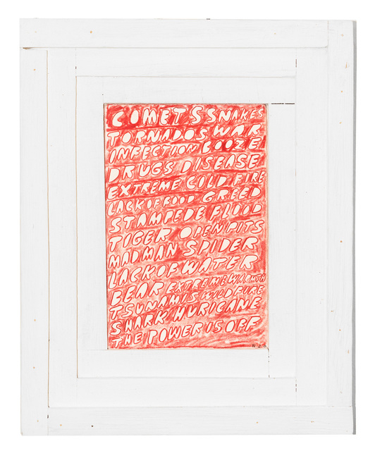 Nathaniel Parsons, 'Calamities', 2016, Gallery 16