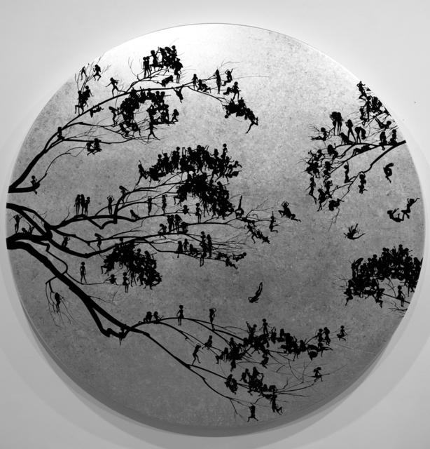, 'Moonrise,' 2018, Allouche Gallery