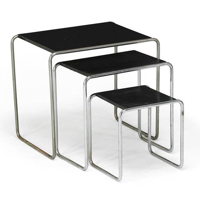 Marcel Breuer, 'Three Tables, Austria', Early 20th C., Rago