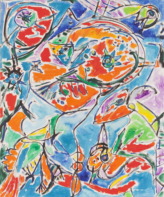 , 'Luftens Jaegere,' 1991, DIE GALERIE