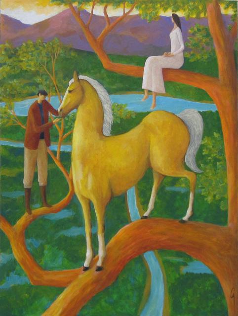 Glenn Quist, 'Palomino Tree', 2015, UGallery