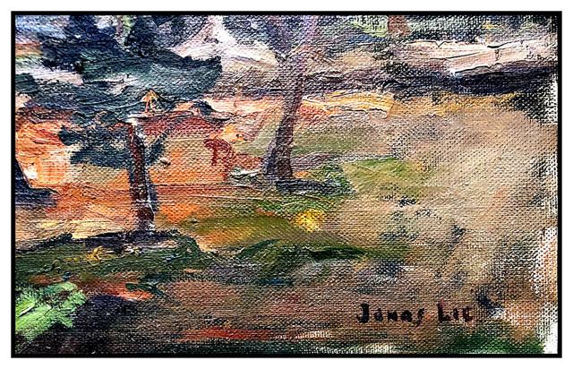 Jonas Lie, 'Blossoming Canopy', 20th Century, Painting, Oil Paint on Canvas, Original Art Broker
