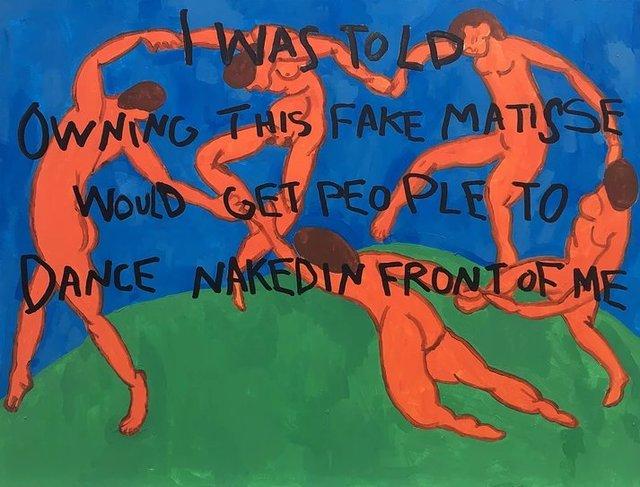 , 'Fake Matisse,' 2017, Imitate Modern