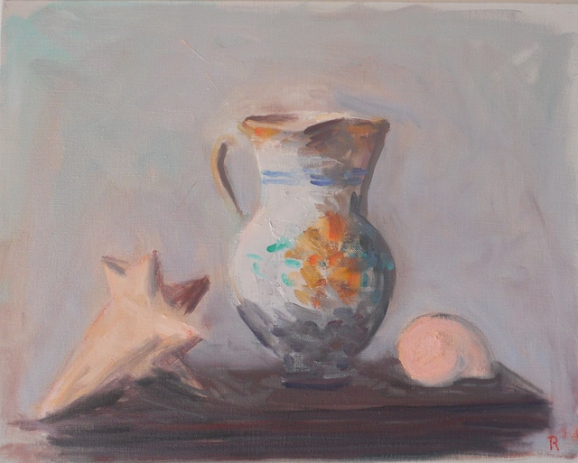, 'Pitcher and Shells #2,' 2015, Bookstein Projects