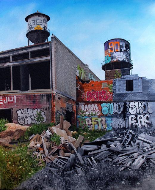 """, '""""Detroit V"""",' 2015, Hashimoto Contemporary"""