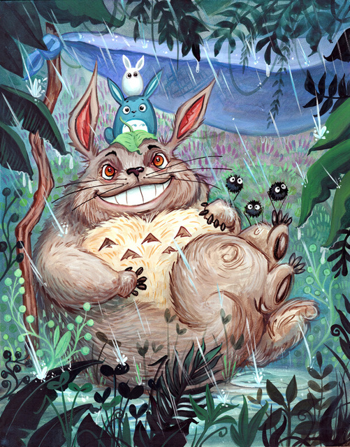 , 'My Neighbor Totoro,' 2018, Helikon Gallery & Studios