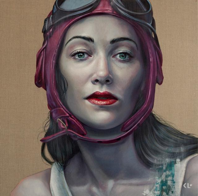 , 'Pilot Girl Revisited II,' 2018, Flinders Lane Gallery