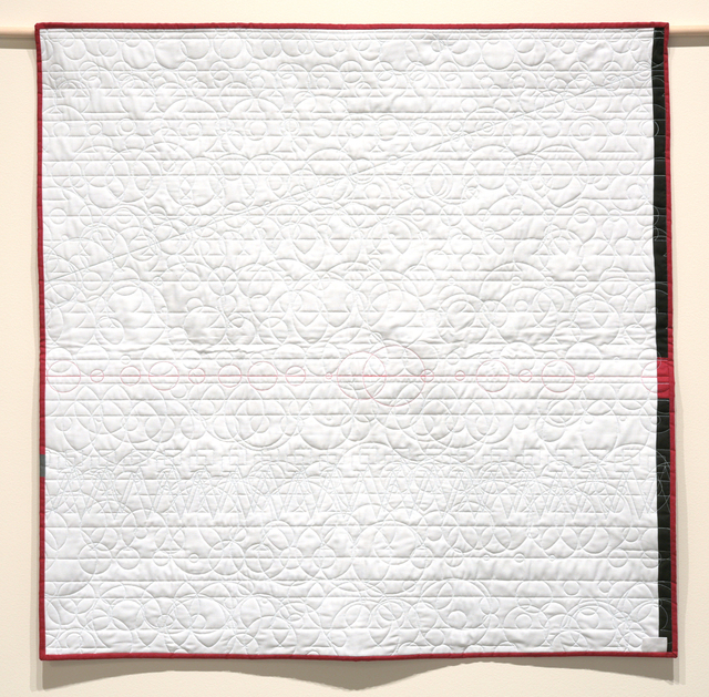 , 'Generative Textile Drawing (sw1),' 2018, Joseph Nease Gallery