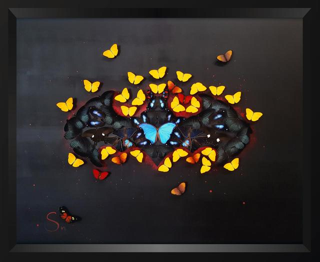 SN, 'Black Batman ', 2019, Eden Fine Art