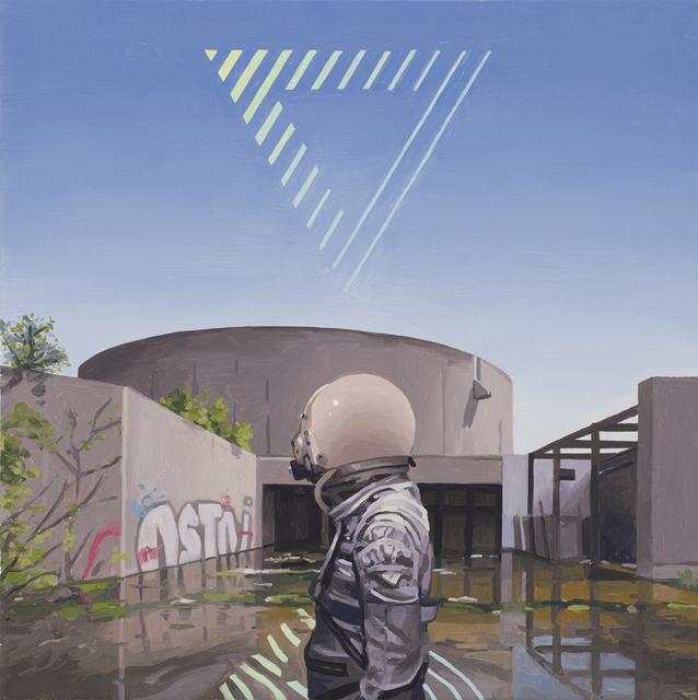 , 'Triangle,' 2018, Spoke Art