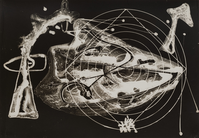 Gyorgy Kepes, 'Untitled (Abstraction with circular and square lines)', 1939-1940, Robert Koch Gallery