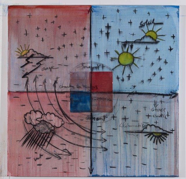 , 'Météos,' 2013, Galerie Nathalie Obadia