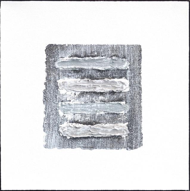 Len Klikunas, 'Water & Sky 8', 2019, Painting, Mixed Media, Gesso on Canvas, Artspace Warehouse