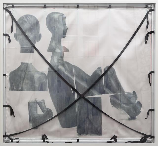 , 'Nacktes Erbe: Hockender Junge; Sitzender Knabe, 1947/48,' 2017, Barbara Gross